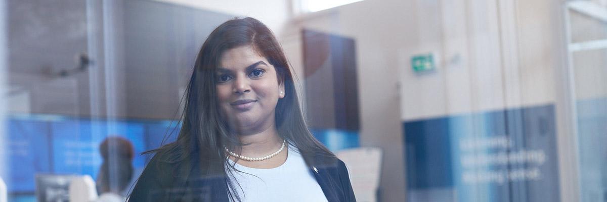Pooja Patik, a BMO employee