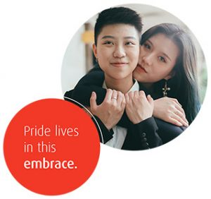 Pride lives in this embrace.